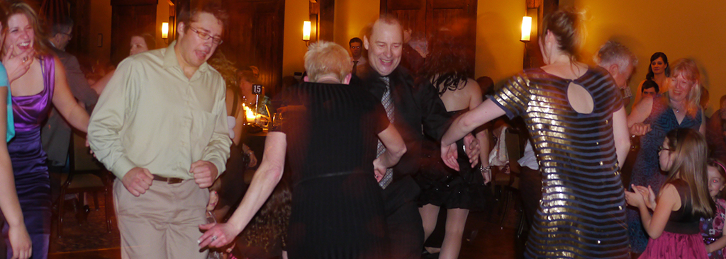 Keep your guests dancing with great music at just the right volume